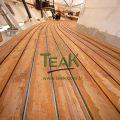 myanmar (burmese) teak decking